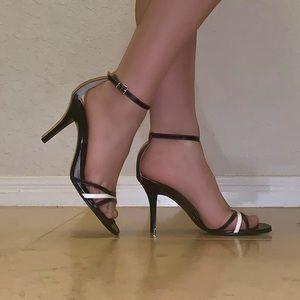 Gianni Bini Black Leather Heels